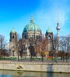 Berlin landmarks Royalty Free Stock Photo
