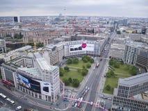 Berlin Leipziger Strasse Royaltyfria Foton