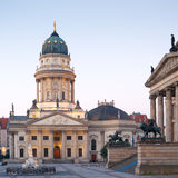 Berlin, les DOM de Deutscher Images stock