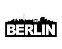 berlin linia horyzontu Zdjęcia Royalty Free