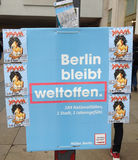 BERLIN LOCAL ELECTIONS Royalty Free Stock Images