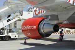 berlin lotniczy samolot Fotografia Stock