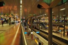 Berlin main railway station - Hauptbahnhof - interior view Stock Photo