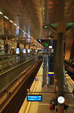Berlin main railway station - Hauptbahnhof - interior view Stock Image