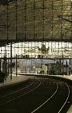Berlin Main Station Fotografering för Bildbyråer