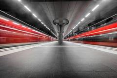 Berlin Main Station in Germania Fotografie Stock