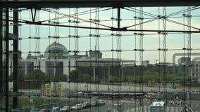 Berlin Main Station View banque de vidéos