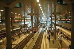 Berlin Main Train Station Royalty Free Stock Photo