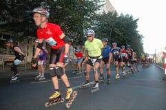 Berlin Marathon Arkivbilder
