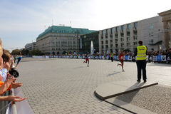 Berlin Marathon photos stock