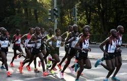 Berlin Marathon Elite Men Group Immagine Stock