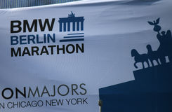 Berlin Marathon Stock Images