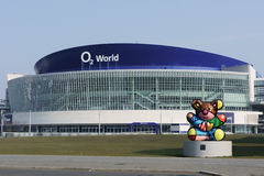 BERLIN - MARCH 16: Exterior view of the O2 World arena on March 16, 2015 in Berlin Stock Photography