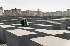 Berlin Memorial for the Murdered Jews of Europe Royalty Free Stock Photography