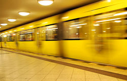 berlin metro Zdjęcie Royalty Free