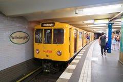 Berlin metro Royalty Free Stock Image