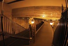 Berlin Metro station Klosterstrasse arkivbild