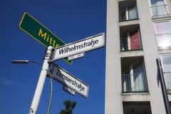 Berlin miastowy Zdjęcia Stock