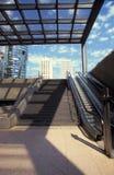 Berlin modern architecture. Potsdamer platz. Film scan Royalty Free Stock Photo