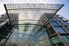 berlin modernt stationsdrev Royaltyfri Fotografi