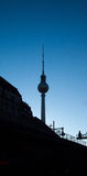 Berlin monument alex tower Royalty Free Stock Images