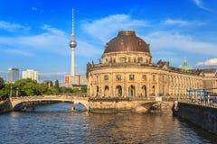 Berlin Museum ö, Tyskland Arkivfoto