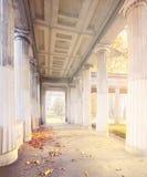 Berlin, Museum Island, Colonnade Courtyard Stock Photography