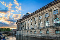 Museum Island, Berlin, Germany. Sunset at Museum Island, Berlin, Germany stock photo