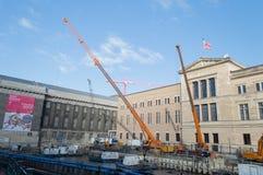 Berlin Museum Zone Stock Foto's
