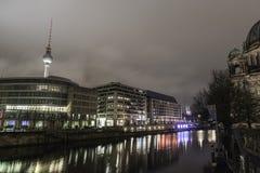 berlin museumsinsel Arkivfoton