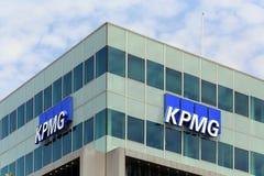 Berlin, Niemcy. Biuro KPMG firma Obrazy Royalty Free