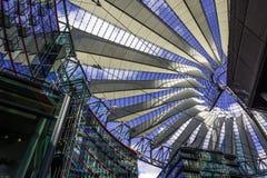 BERLIN, 01 NIEMCY Maj 2015 Sony centrum na Potsdamer Platz, Zdjęcia Royalty Free