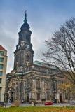 BERLIN NIEMCY, PAŹDZIERNIK, - 02, 2016: Histoirical centrum Drezdeński Stary miasteczko Drezdeński długą historię jako Zdjęcie Royalty Free