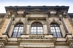 BERLIN NIEMCY, PAŹDZIERNIK, - 02, 2016: Histoirical centrum Drezdeński Stary miasteczko Drezdeński długą historię jako Obraz Stock