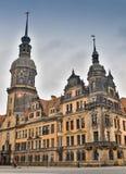BERLIN NIEMCY, PAŹDZIERNIK, - 02, 2016: Histoirical centrum Drezdeński Stary miasteczko Drezdeński długą historię jako Zdjęcie Stock