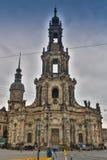 BERLIN NIEMCY, PAŹDZIERNIK, - 02, 2016: Histoirical centrum Drezdeński Stary miasteczko Drezdeński długą historię jako Zdjęcia Stock