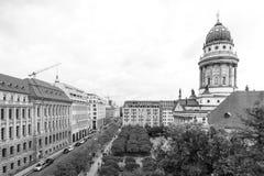 BERLIN, NIEMCY Październik 7, 2016: Gendarmenmarkt jest kwadratem Zdjęcia Royalty Free