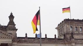berlin Niemcy Parlament Bundestag i rozwija niemiec zaznaczamy zbiory wideo