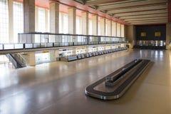 Berlin, Niemcy, Sierpień 2018; Poprzedni Berliński Tempelhof lotnisko obraz stock