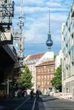 berlin NIEMCY, SIERPIEŃ - 01, 2016 Obraz Royalty Free