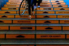 BERLIN NIEMCY, WRZESIEŃ, - 22, 2015: Metro przy Postda Zdjęcie Royalty Free