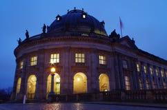 Berlin at night Royalty Free Stock Photography