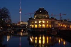 Berlin at night Stock Photos