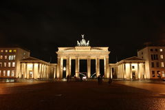 Berlin at night Stock Images