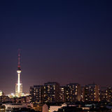 Berlin by night Stock Photo