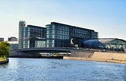 Berlin nowoczesna architektura fotografia stock
