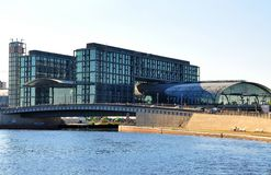 Berlin nowoczesna architektura zdjęcia stock