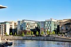 Berlin nowoczesna architektura obrazy royalty free