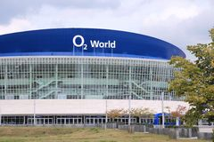 Berlin O2 World arena Royalty Free Stock Photos
