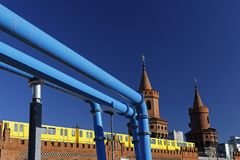 Berlin Oberbaumbrücke Royalty Free Stock Photography